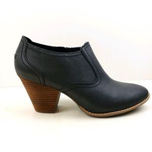 Dr Scholls True Comfort Black Ankle Boots